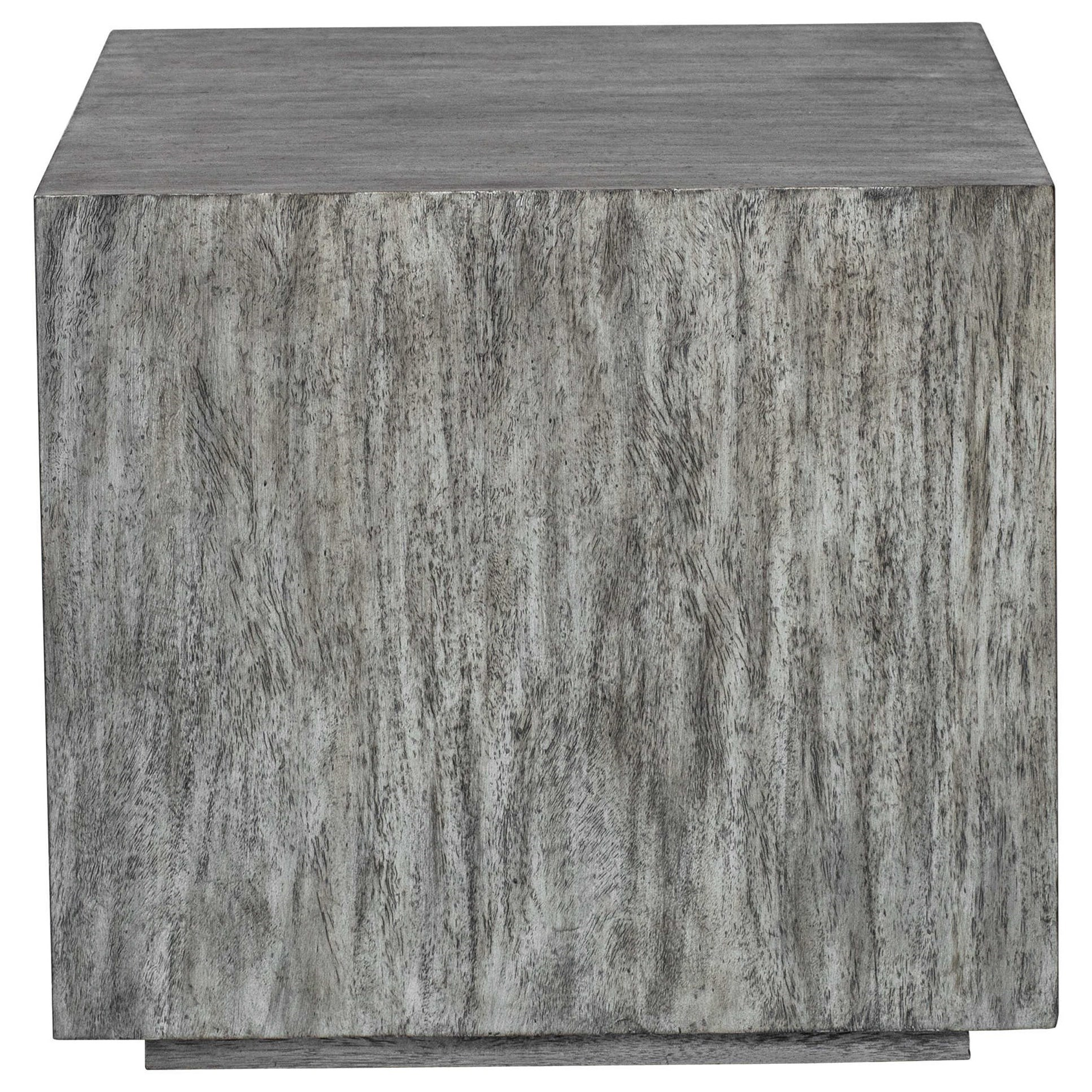 Accent Furniture - Occasional Tables Kareem Modern Gray Side Table by Uttermost at Mueller Furniture