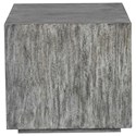 Uttermost Accent Furniture - Occasional Tables Kareem Modern Gray Side Table - Item Number: 25442