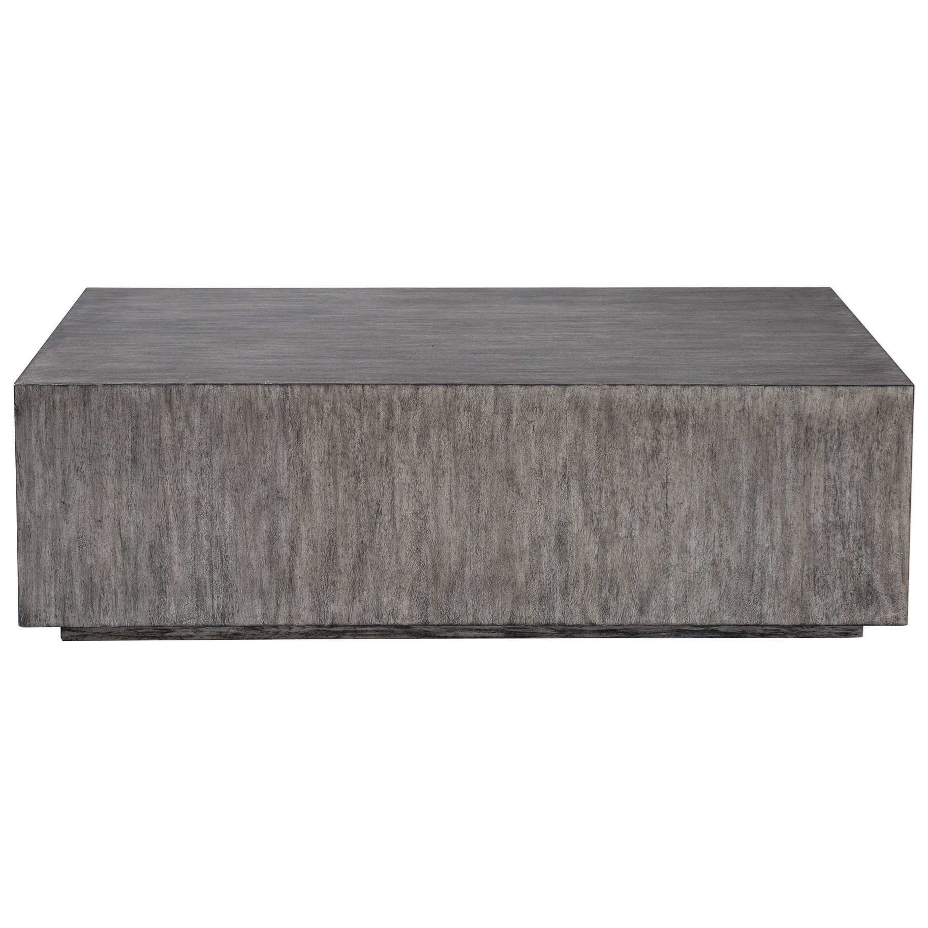Accent Furniture - Occasional Tables Kareem Modern Gray Coffee Table by Uttermost at Dunk & Bright Furniture