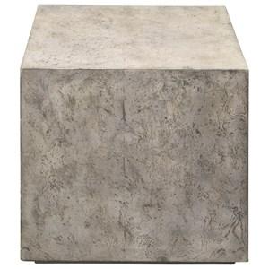 Kioni Gray Cube Table