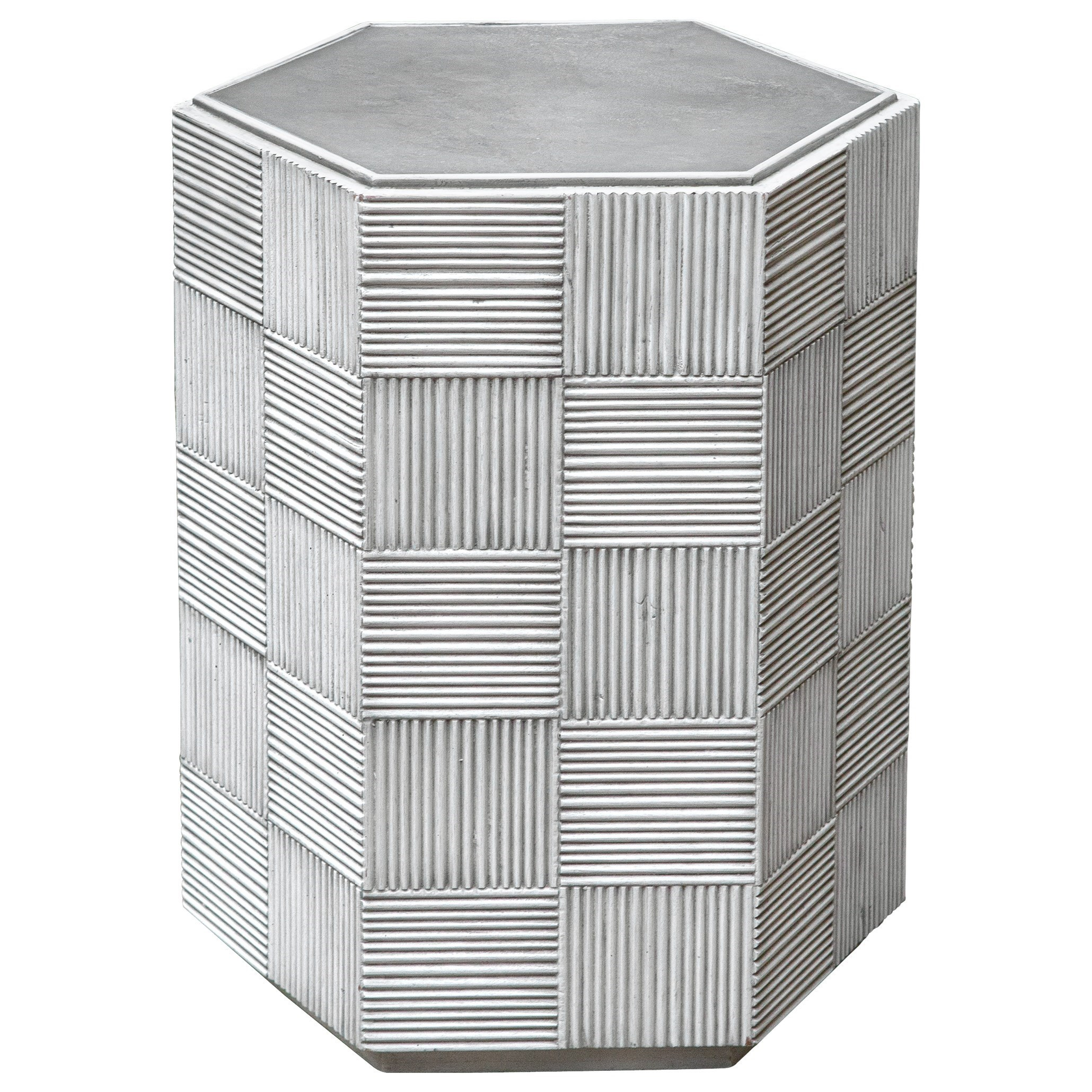 Silo Hexagonal Accent Table