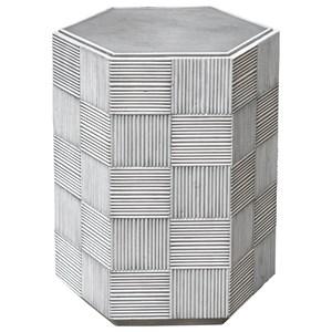 Silo Hexagonal Accent Table