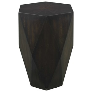 Volker Black Wooden Side Table