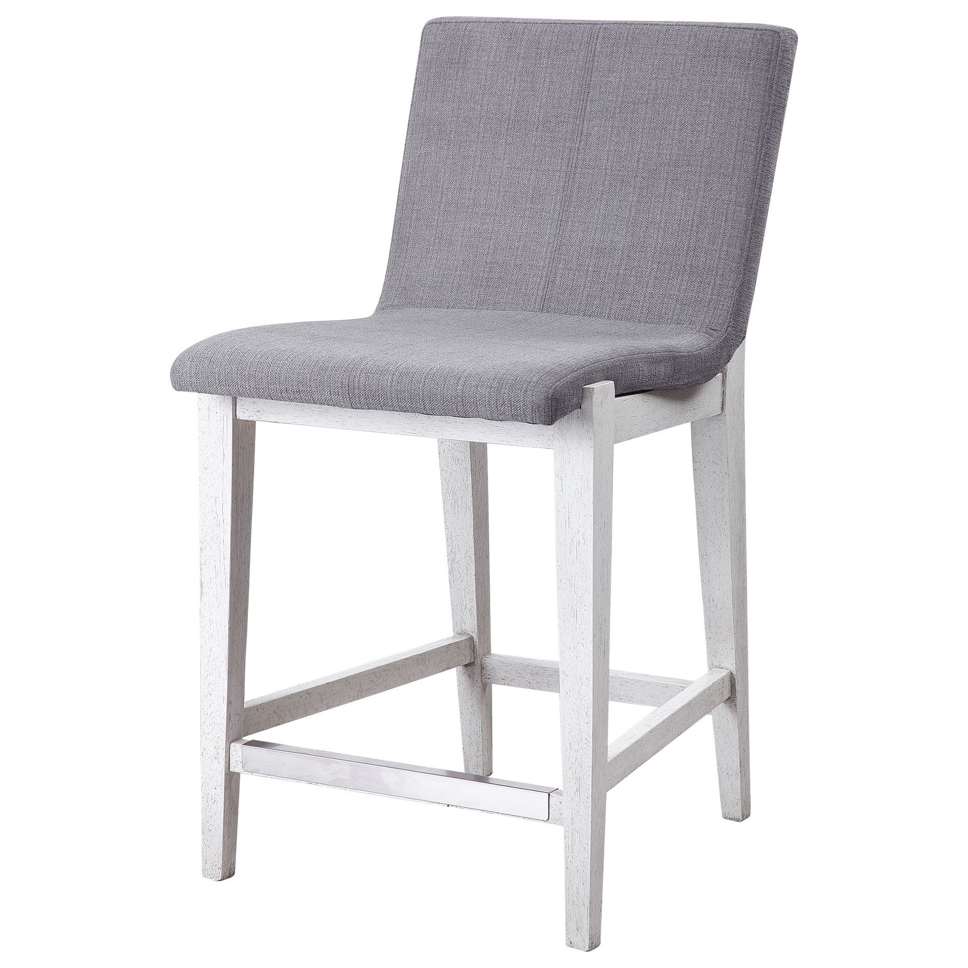 Accent Furniture - Stools Brazos Gray Counter Stool by Uttermost at Mueller Furniture