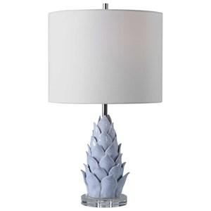 Fera Light Blue Accent Lamp