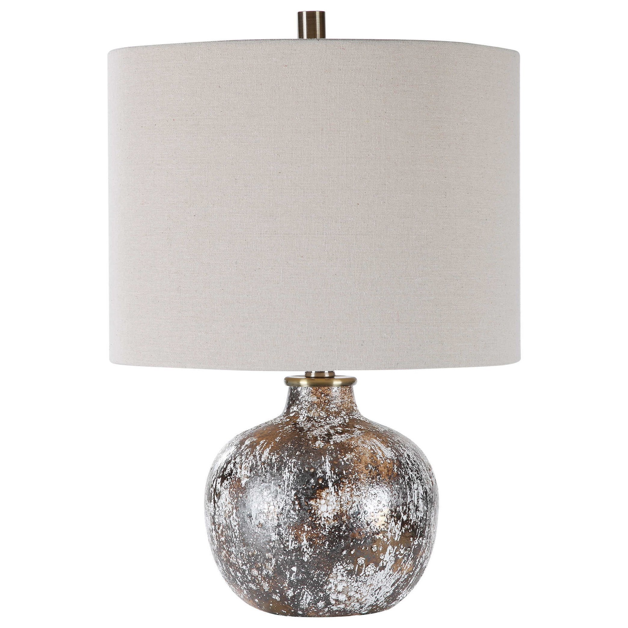 Accent Lamps Luanda Ceramic Accent Lamp by Uttermost at Del Sol Furniture
