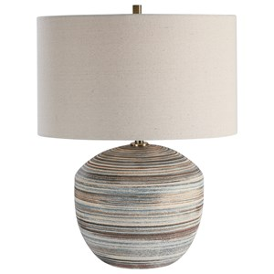 Prospect Striped Accent Lamp