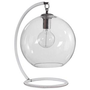 Eissa White Accent Lamp
