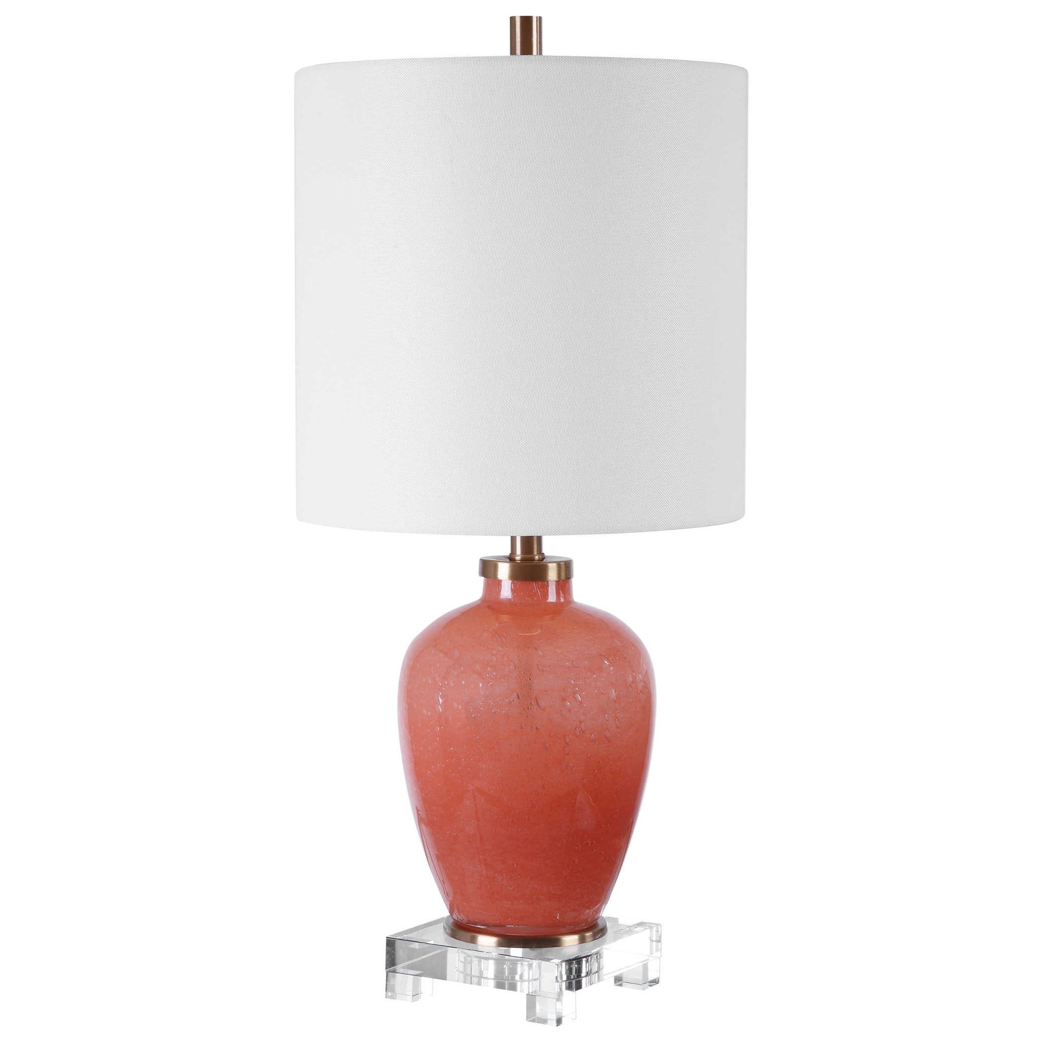 Accent Lamps Dominica Coral Accent Lamp by Uttermost at Del Sol Furniture