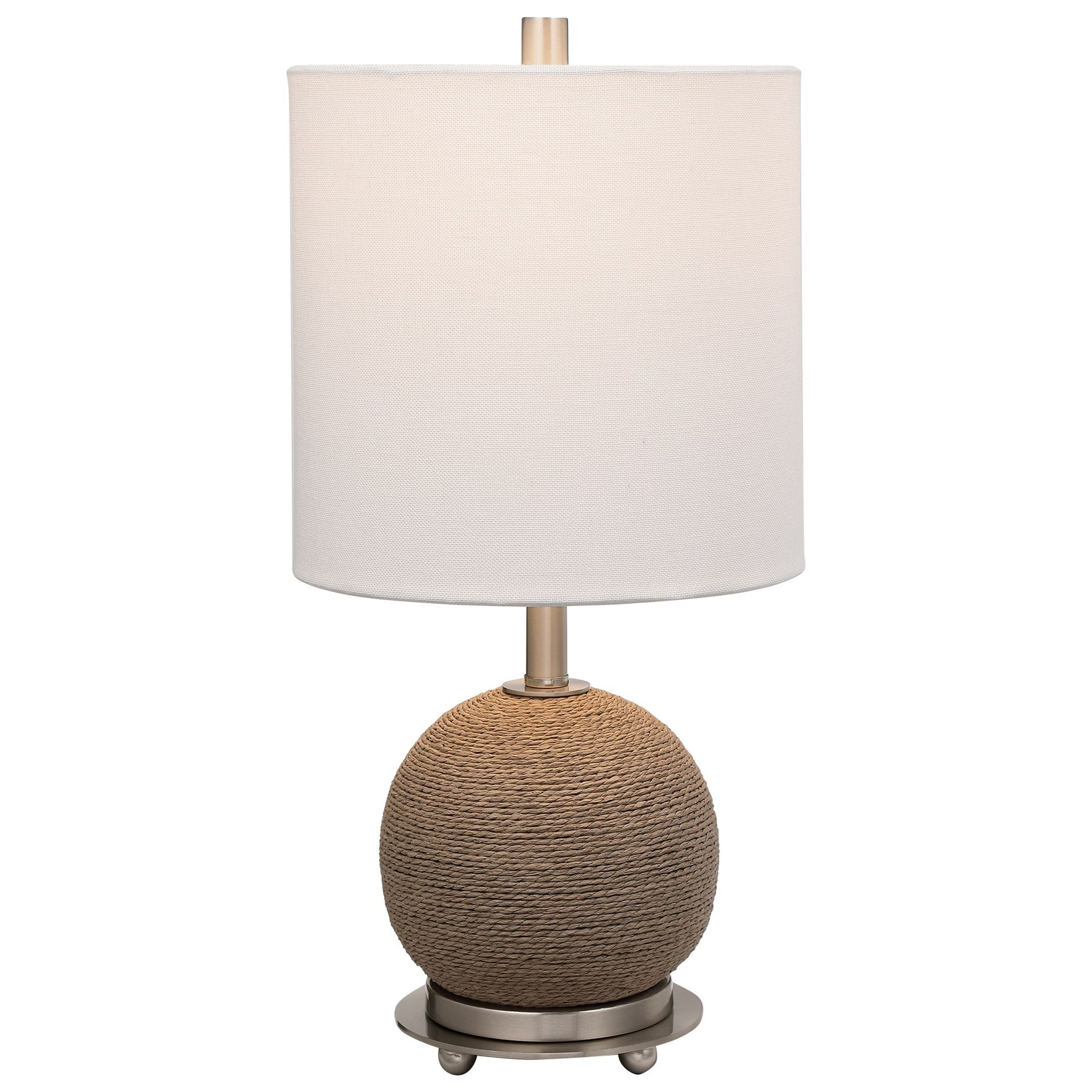 Accent Lamps Captiva Rattan Accent Lamp by Uttermost at Dunk & Bright Furniture