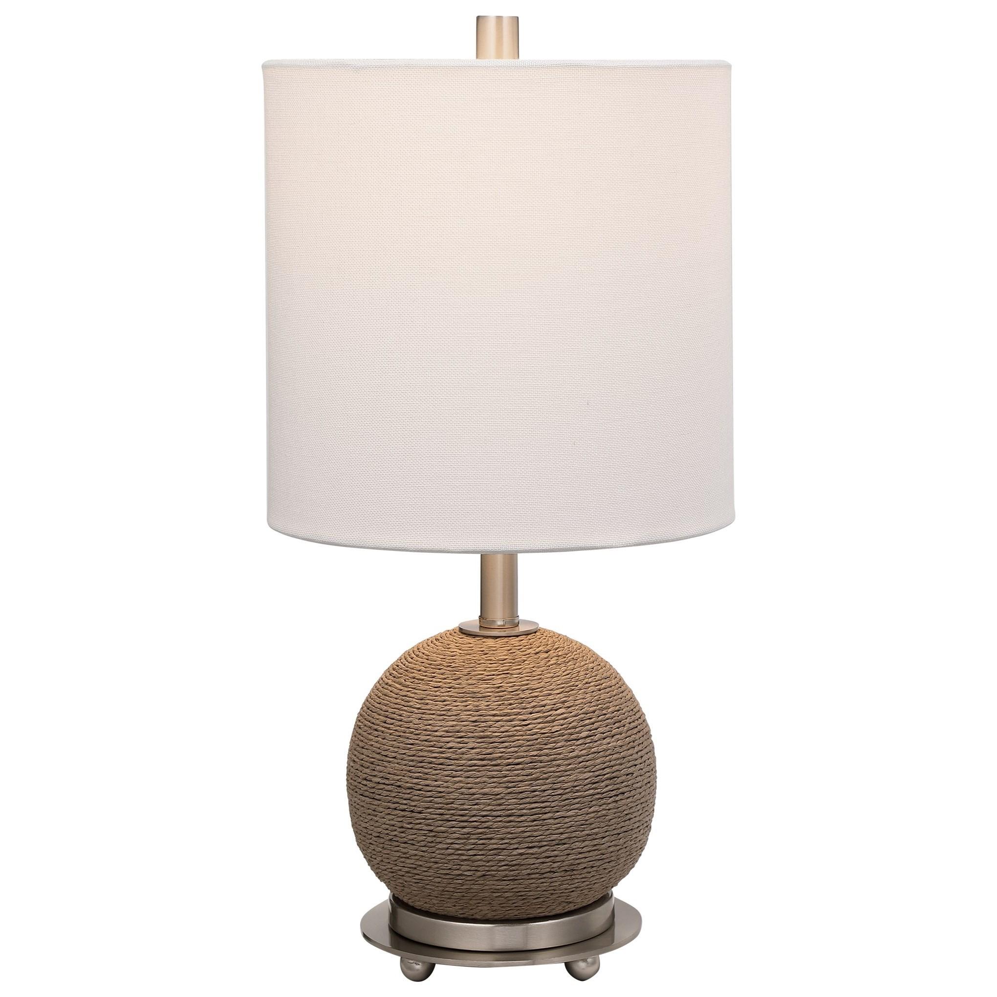 Captiva Rattan Accent Lamp