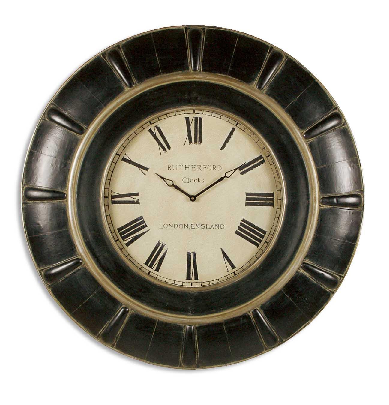 Uttermost Accessories Rudy Clock - Item Number: 06709
