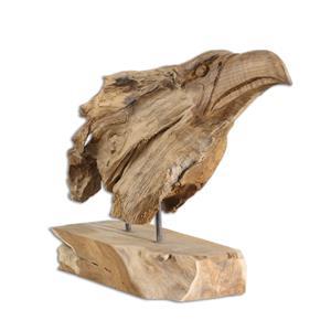 Uttermost Accessories Teak Eagle Sculpture