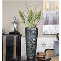 Uttermost Accessories Jennings Black Vase
