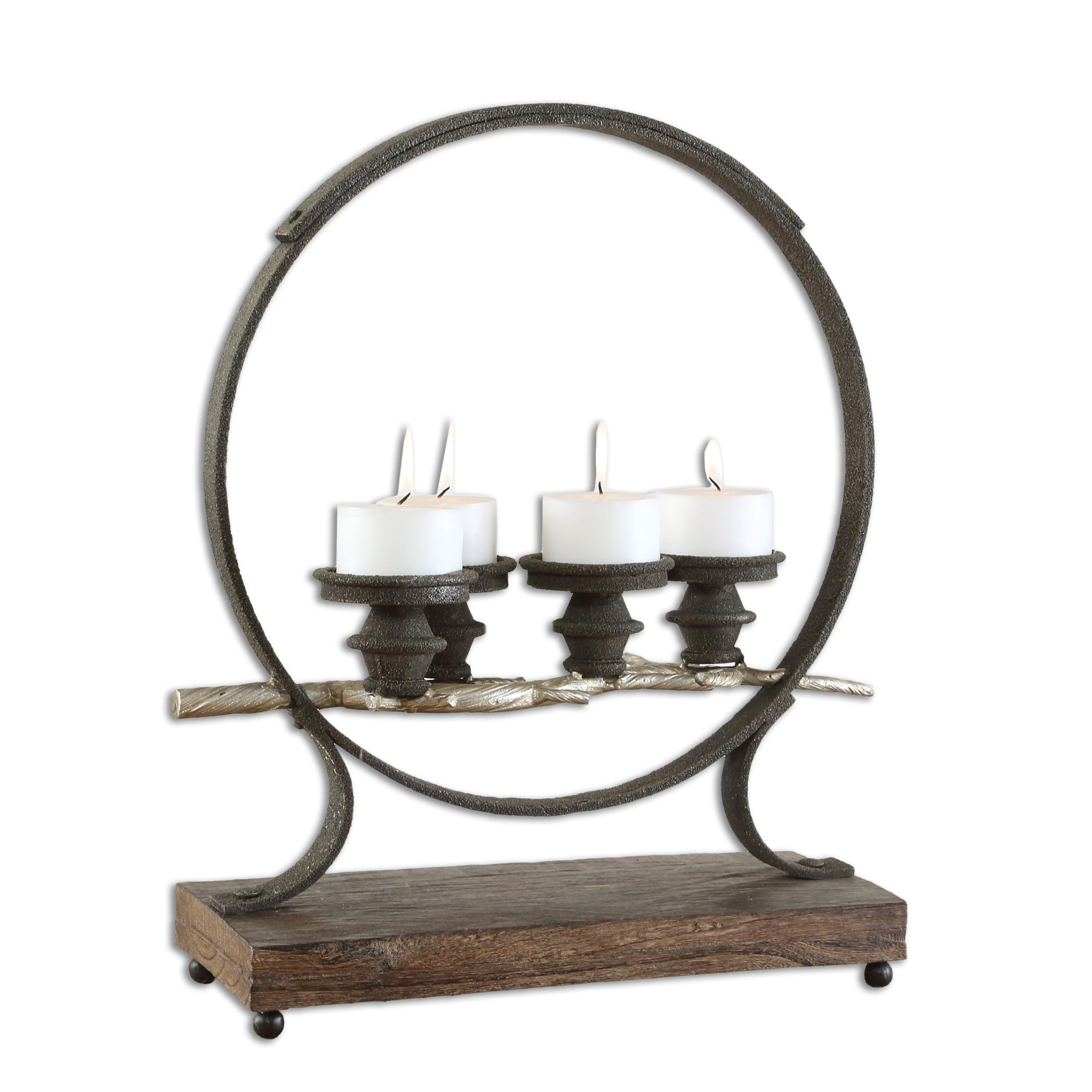 Uttermost Accessories Mathis Iron Candleholder - Item Number: 17089