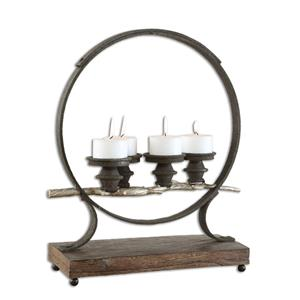 Uttermost Accessories Mathis Iron Candleholder
