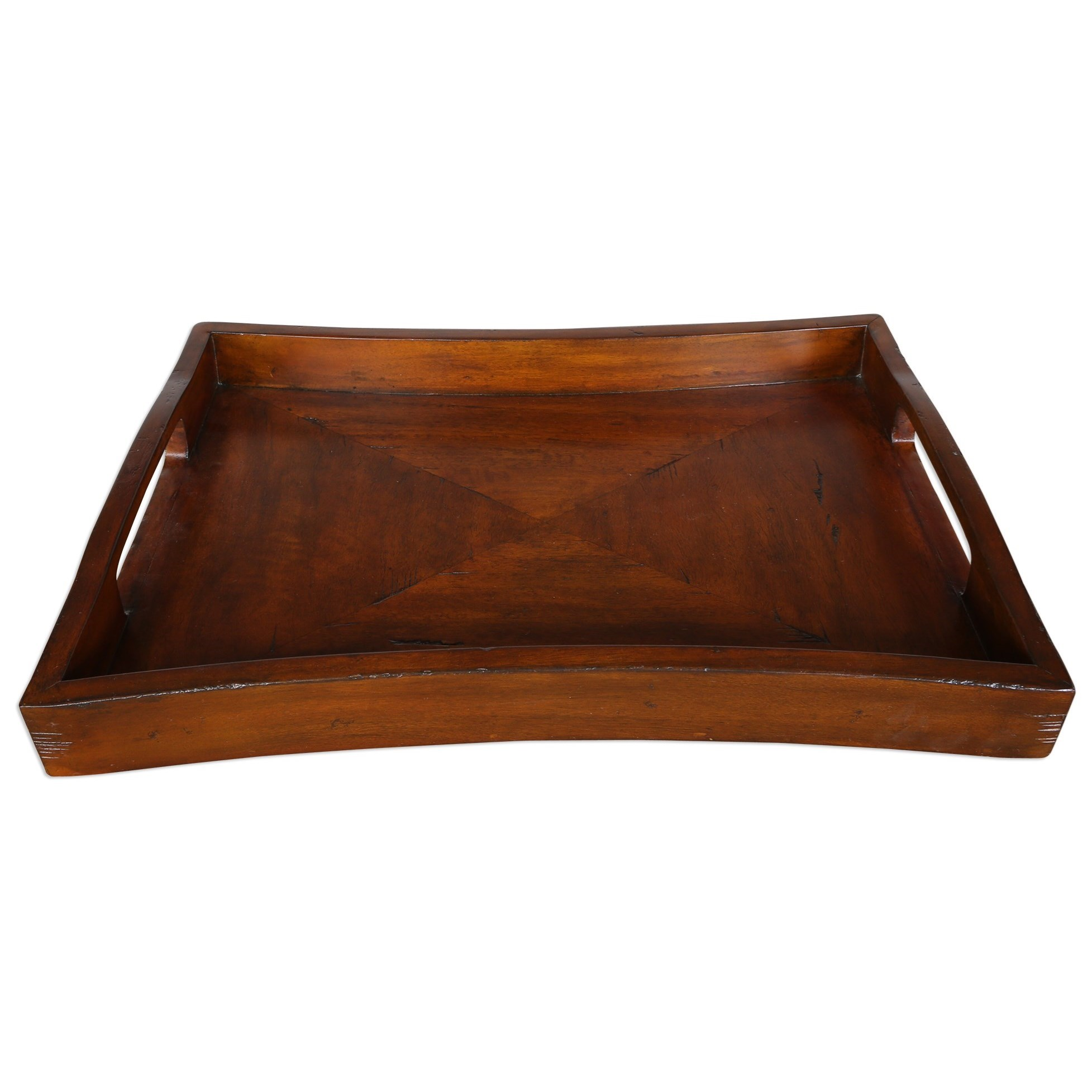 Uttermost Accessories Enrico Wooden Tray - Item Number: 17093
