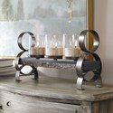 Uttermost Accessories Mila Antique Bronze Candleholder