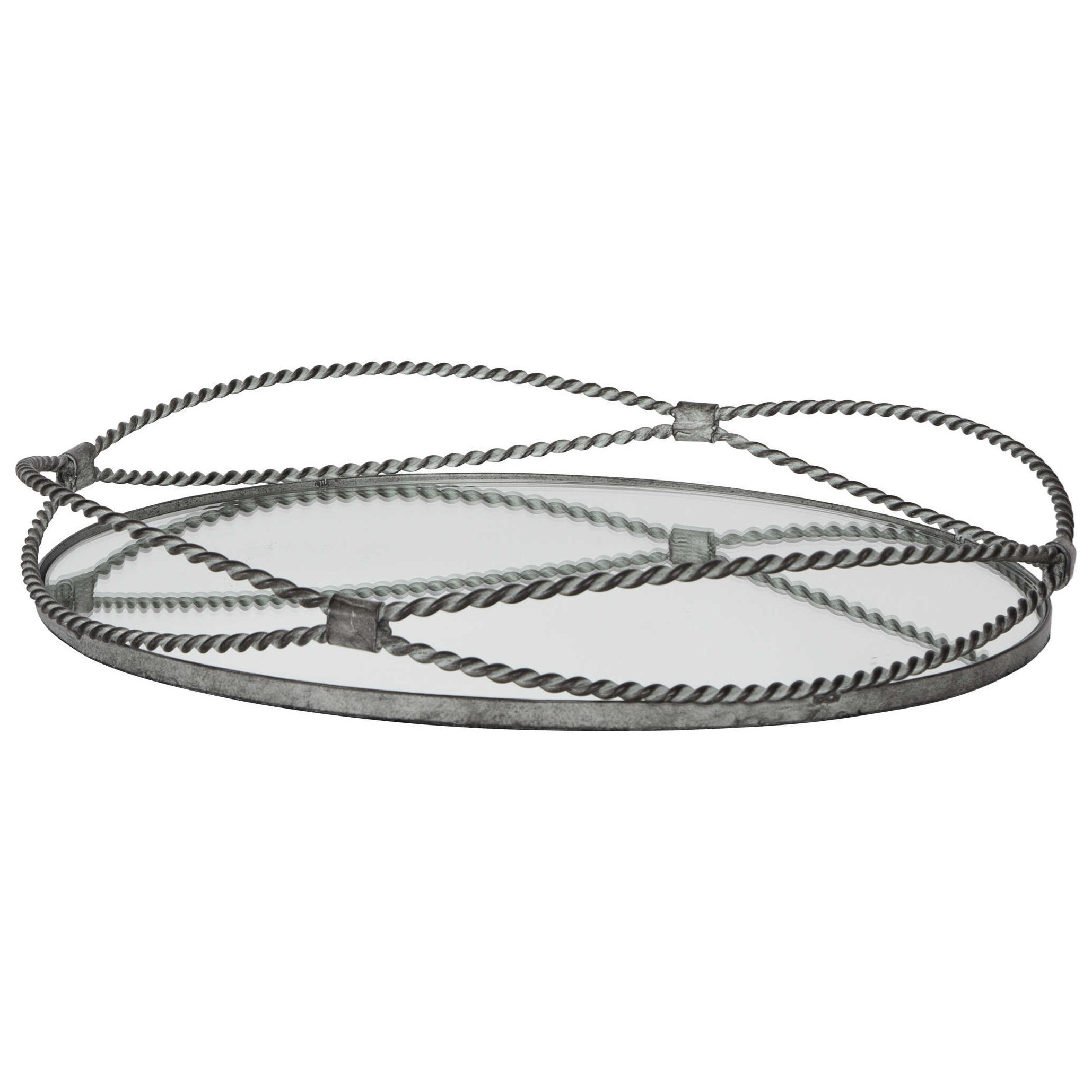 Accessories Maori Twisted Iron Tray by Uttermost at Dunk & Bright Furniture