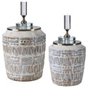 Uttermost Accessories Lenape Ceramic Bottles, S/2 - Item Number: 17740