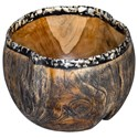 Uttermost Accessories Chikasha Wooden Bowl - Item Number: 17743