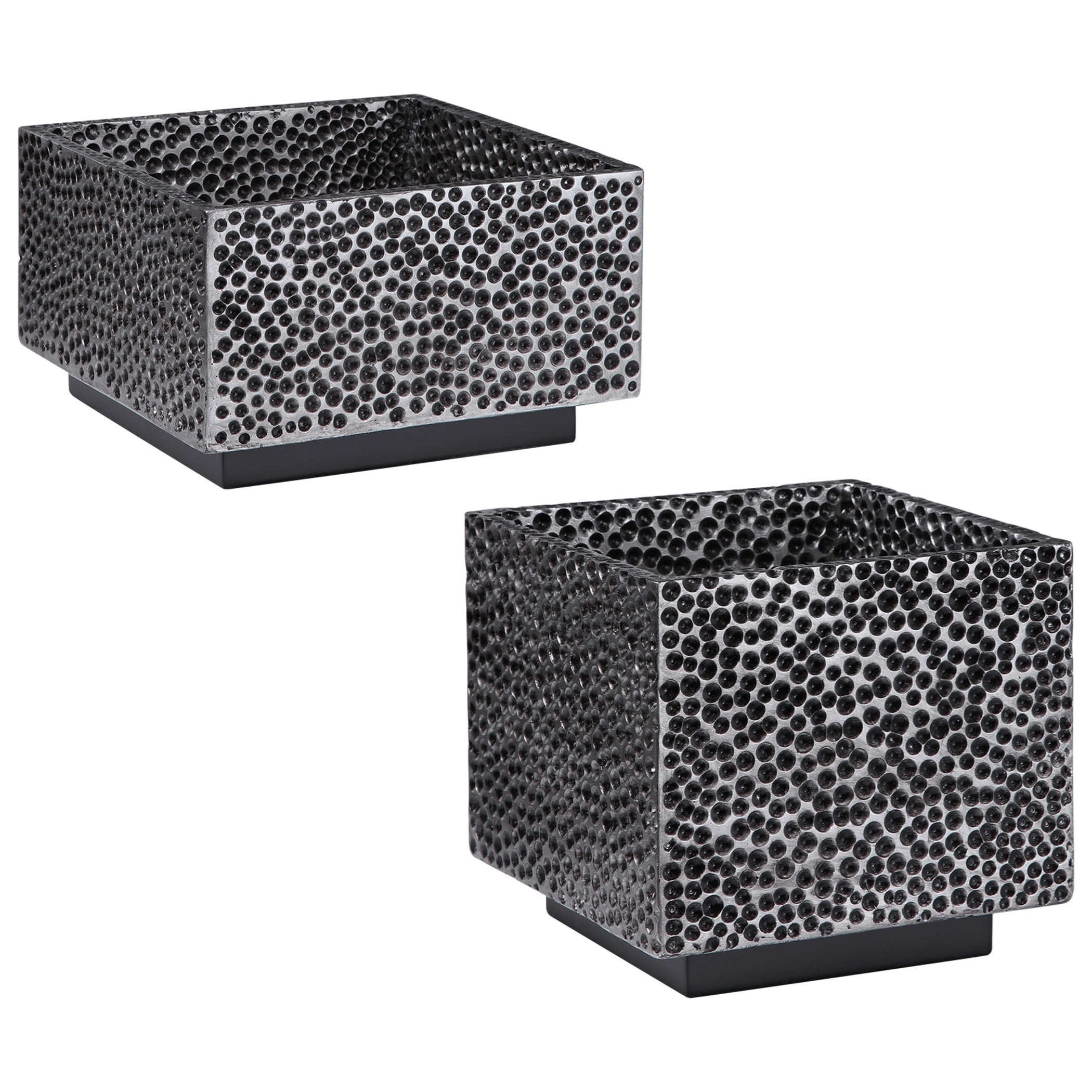 Accessories Bram Modern Square Bowls, S/2 by Uttermost at Mueller Furniture