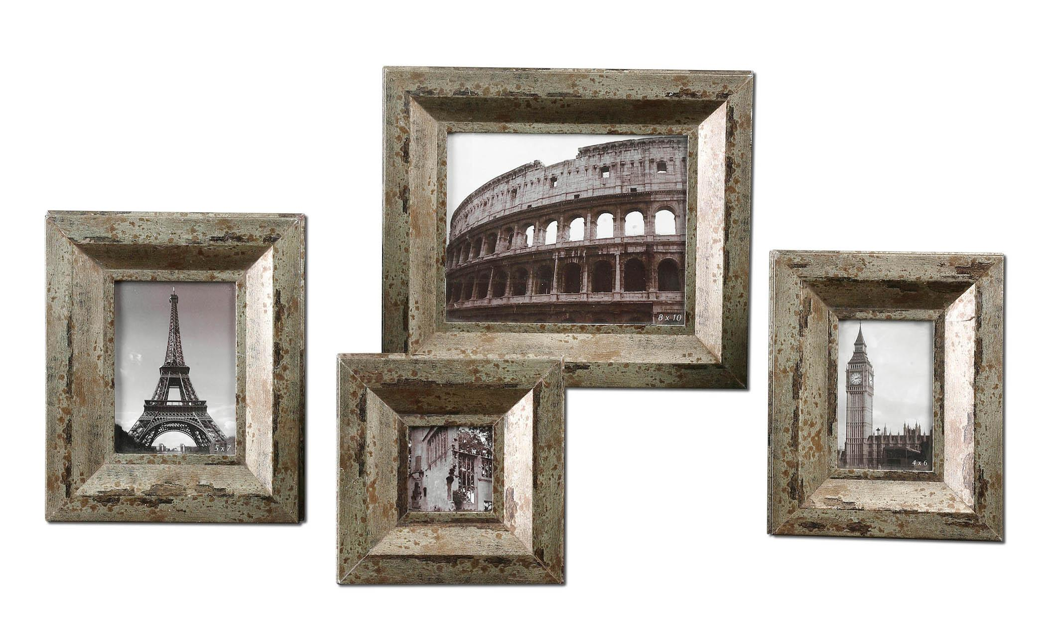 Uttermost Accessories Camber Photo Frames Set of 4 - Item Number: 18516