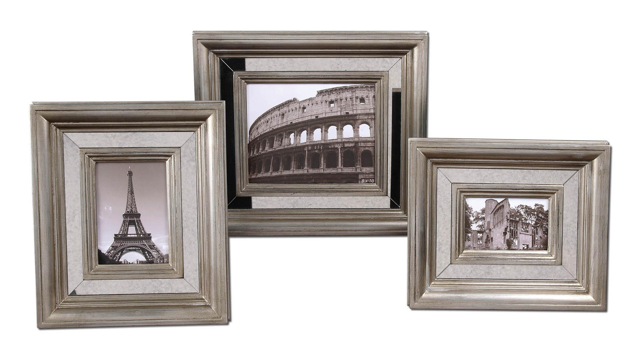 Uttermost Accessories Hasana Photo Frames Set of 3 - Item Number: 18519