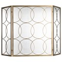 Uttermost Accessories Alayah Gold Fireplace Screen - Item Number: 18594