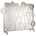 Uttermost Accessories Frankie Contemporary Fireplace Screen - Item Number: 18595