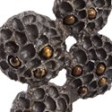 Uttermost Accessories Tiger Eye Lotus Sculpture