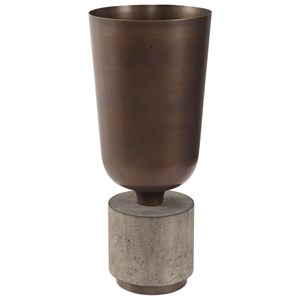 Uttermost Accessories Alijah Bronze Vessel