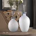 Uttermost Accessories Leah Bubble Glass Containers S/2