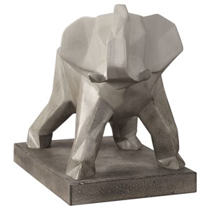 Uttermost Accessories Duke Elephant Sculpture