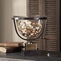 Uttermost Accessories Cristian Glass Bowl
