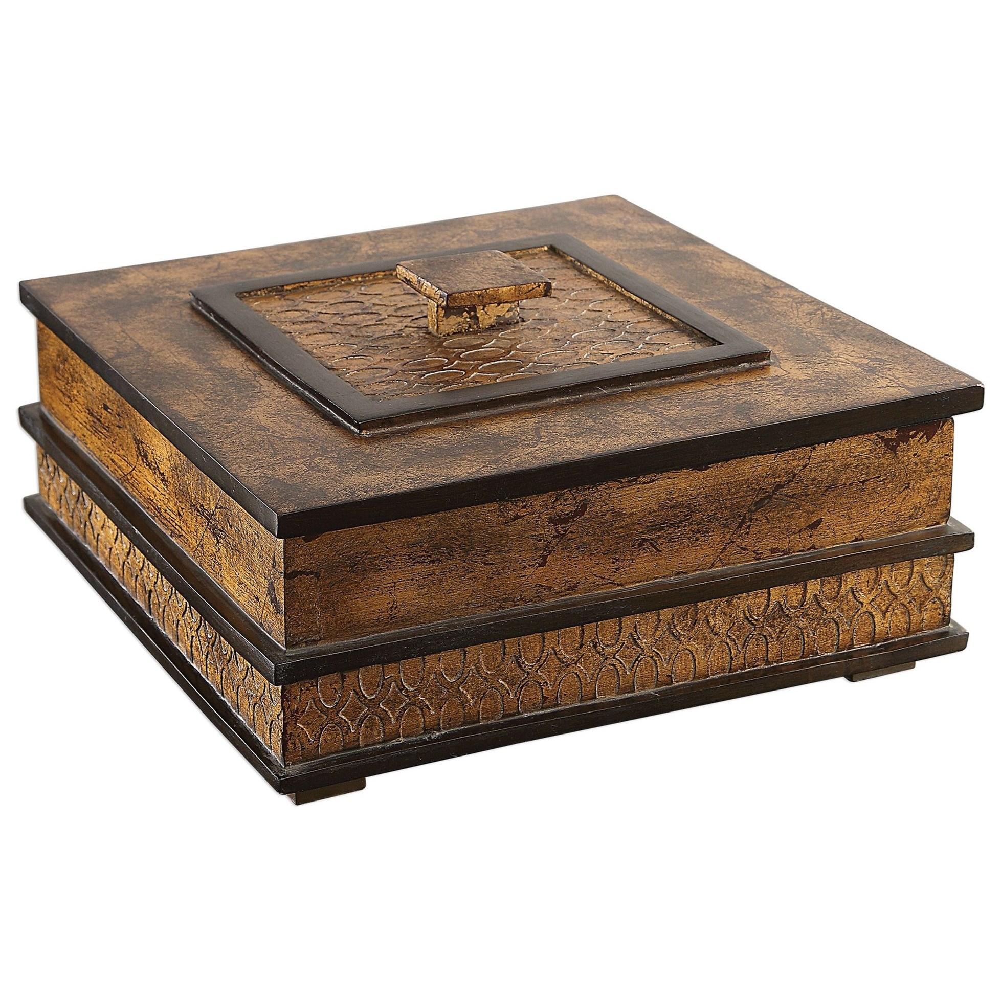 Ray Gold Leaf Box