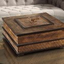 Uttermost Accessories Ray Gold Leaf Box