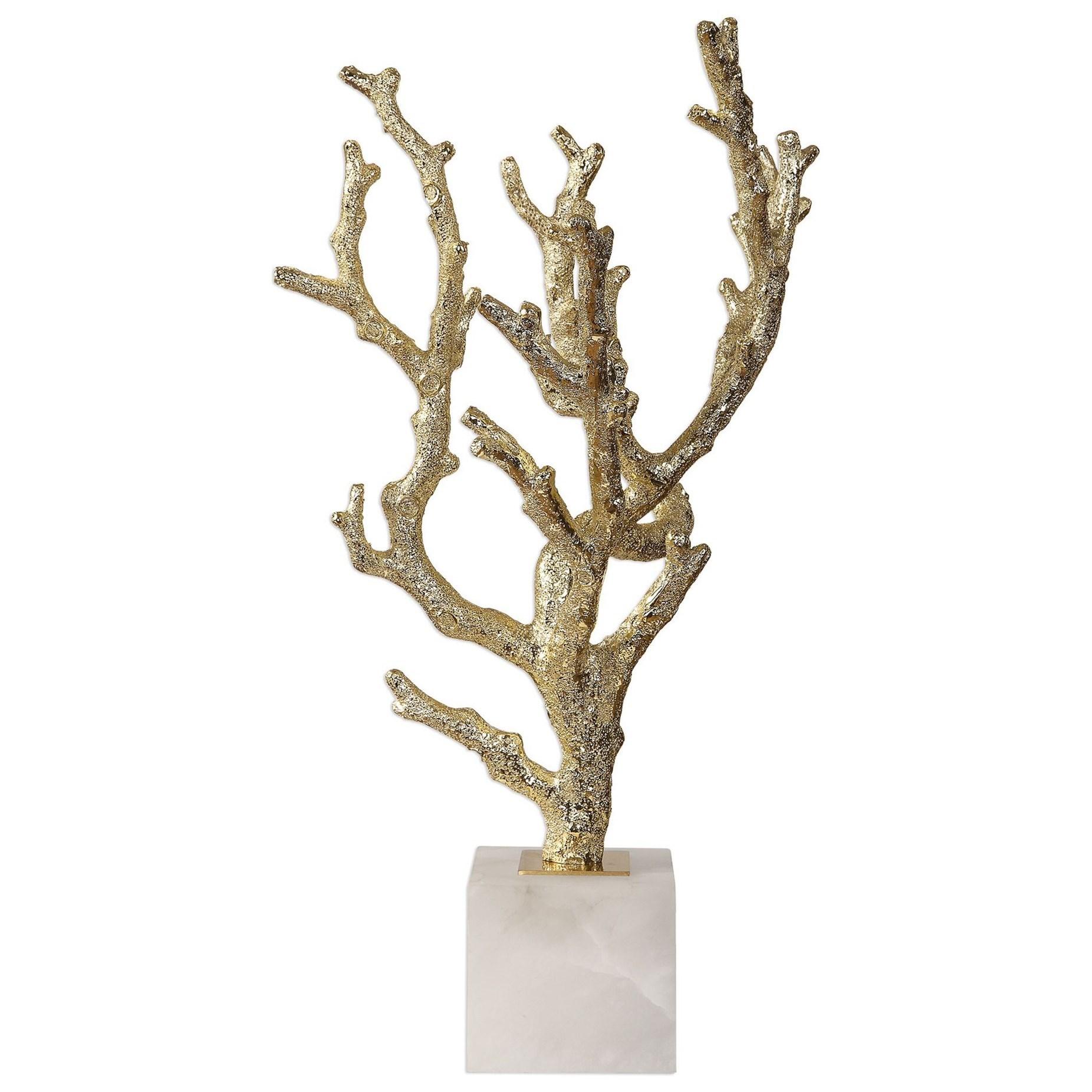 Coraline Silver Coral Sculptures