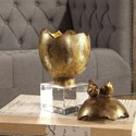 Uttermost Accessories Hatched Gold Egg Box