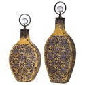 Uttermost Accessories Katelyn Ceramic Vessels, S/2 - Item Number: 18632