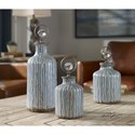 Uttermost Accessories Mathias Grey-Blue Vessels, S/3
