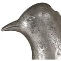 Uttermost Accessories Isha Silver Bird Sculpture