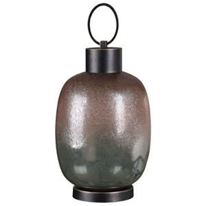 Uttermost Accessories Kalamaria Rustic Bronze Urn