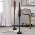 Uttermost Accessories Ceremonial Mahogany Paddles (Set of 2)