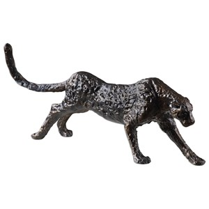 Uttermost Accessories Panther Iron Sculpture