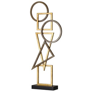 Uttermost Accessories Terzo Modern Sculpture