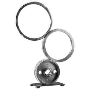 Uttermost Accessories Stacked Gears Sculpture