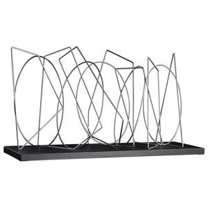 Uttermost Accessories Geo Silver Sculpture