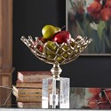 Uttermost Accessories Tiana Metallic Gold Bowl