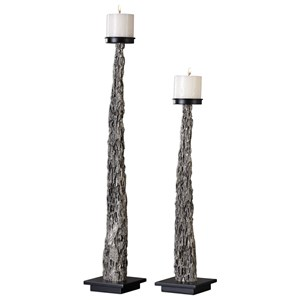 Uttermost Accessories Tegal Candleholders (Set of 2)
